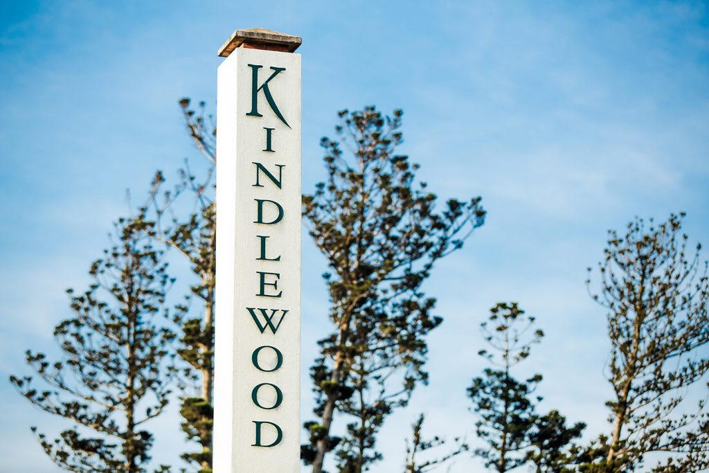 Kindlewood Estate Sign